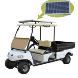 Camion Del3022dh de cargaison de véhicule électrique de panneau solaire