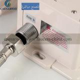 Золотистый автоматический Faucet тазика датчика