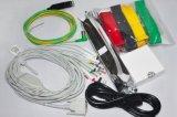 La Manche 12 machine ECG Fl-1200g de l'électrocardiographe ECG de 8 pouces