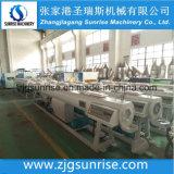Plastik-Belüftung-HDPE-PET PPR Wasser-Rohr-Strangpresßling/Herstellung-Maschine