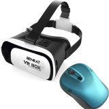Reality virtual Headset 3D Glasses Vr Box con Bluetooth Mouse