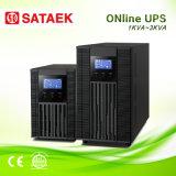새로운 단일 위상 보호 순수한 사인 파동 온라인 UPS 1kVA/2kVA/3kVA