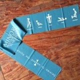 Courroie en caoutchouc de yoga de bande de forme physique d'exercice de résistance d'extension de la bande 1.5m de résistance d'exercice
