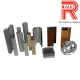 Aluminium-/Aluminiumstrangpresßling-Profil für Fenster-Rahmen (RAL-599)