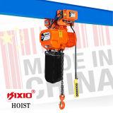 Het makkelijk te gebruiken 3t Elektrische Hijstoestel van de Ketting van Kixio van de Werkende Efficiency van het Hijstoestel van de Ketting Hoge Elektrische