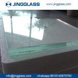 vidrio laminado a prueba de balas endurecido coloreado verde del vidrio laminado de 6.38m m