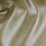 Couro comercial artificial Abrasão-Resistente elevado da mobília do PVC para o Upholstery do sofá