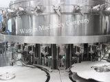 planta de relleno de la bebida carbónica rotatoria de la botella de cristal 6000bph
