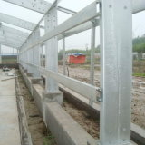 Complete Poultry Equipments를 가진 가벼운 Steel Structure Poultry Shed