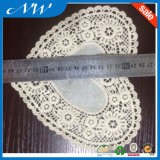 Форма сердца с воротом шнурка хлопко-бумажная ткани