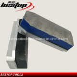 L140mm abrasivo de diamante Fickert para o granito pedra afiação e polimento