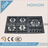 Gas dell'interno Cooktop Cast Iron Built dentro con Safety Device