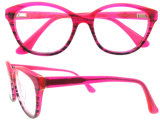 Het in het groot Frame Van uitstekende kwaliteit van het Oogglas van Eyewear van de Acetaat van de Manier