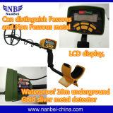 LCD Machine van de Detector van de Detector van het Metaal van de Vertoning de Ondergrondse Gouden