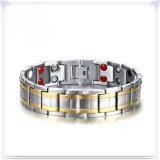 方法宝石類の磁気ブレスレットのチタニウムのブレスレット(TB101)