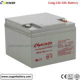 Batterie 12V24ah de gel d'achat pour des systèmes de sauvegarde et des systèmes solaires
