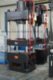 Imprensa hidráulica de 4 colunas e máquina de perfuração