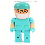 Lecteur flash USB Cute Cartoon Doctor Design pour promotion