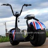 """""""trotinette"""" elétrico de Harley do pneu gordo de 18 polegadas"""
