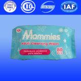 Wipes bagnati di Skincare, Wipes facili del bambino di schiarimento della manopola, fornitore dei prodotti del bambino della Cina