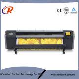 imprimante à jet d'encre dissolvante de grand format de flore de tête d'impression de 3.2m 8PCS Konica512I
