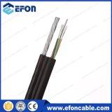 Cable óptico de fibra del soporte del uno mismo del miembro de fuerza de la Ninguno-Armadura FRP (GYFTC8Y)
