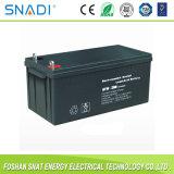 100ah/120ah/200ah liberano la batteria solare acida al piombo sigillata manutenzione per l'alimentazione elettrica