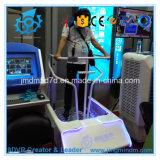 Cinéma de simulateur de montagnes russes de stand des conduites 9d Vr d'amusement d'enfants