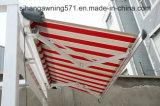 Semi tente escamotable de cassette avec le bras tendu par gaz (S-04)