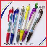 Annonçant le crayon lecteur, la papeterie en plastique multifonctionnelle retirent le crayon lecteur de drapeau