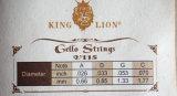 Corda do rei Leão Tipo Alumínio Violoncelo de China para a venda