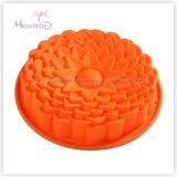 Molde da bandeja de bolo da flor do silicone do FDA & do LFGB Bakeware