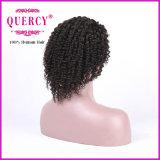 """peruca Curly do laço do Afro do cabelo humano de Remy da classe 8A para a mulher preta, 8-30 """" disponível"""
