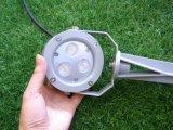 3W LED de luz del césped, jardín de 3W LED luz del punto
