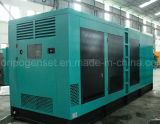 Type silencieux groupe électrogène de moteur de puissance de sortie d'approvisionnement diesel de Genset