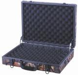 Caixa de injetor dura do rifle do caso de alumínio à prova de fogo de alumínio com o logotipo impresso e