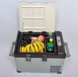 Litro portátil novo DC12/24V do refrigerador 25 do carro com adaptador da C.A. (100-240V) para o uso da atividade ao ar livre
