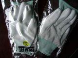 Ладони PU Cleanroom перчатки Nylon Coated противостатические