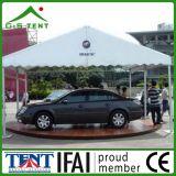 Im Freienereignis, das Zelt für Auto-Ausstellung bekanntmacht