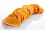Patatine fritte automatiche piene della macchina delle patate fritte che fanno macchina con il congelatore