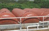 De Zachte Spijsvertering van het Membraan van pvc/de Rode Gister van het Biogas van het Membraan van de Holding Bag/PVC van het Biogas van de Modder