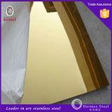 304 schwarze Spiegel-Edelstahl-Blätter für Raum-Partition-Panels