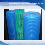 Покрынная PVC сваренная ячеистая сеть (сразу фабрика)