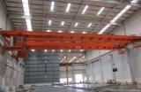 Qd LuchtKraan van de Balk van de Kraan van de Brug van de Hanger de Dubbele met de Elektrische Opheffende Machines van het Hijstoestel voor Workshop 16t