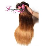 Самые лучшие продавая свободно грузя волосы девственницы Ombre перуанские