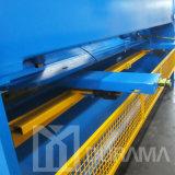 La máquina que pela de la placa hidráulica, guillotina pela serie de QC11k