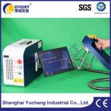 Портативное Handheld печатание машины маркировки лазера на резиновый автошинах