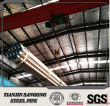 Tubo de acero galvanizado de la INMERSIÓN caliente con el certificado ISO9001