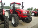 Bonne qualité de Fowo 140HP 4WD et tracteur de ferme des prix concurrentiels