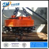 Electroimán de elevación circular para el desecho de acero, la bola de acero y el lingote del acero en temperatura alta